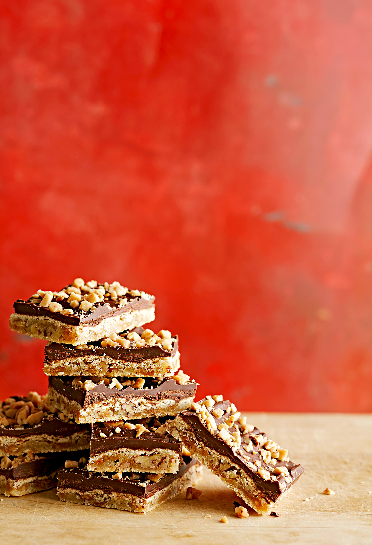 Praline Crunch Bars