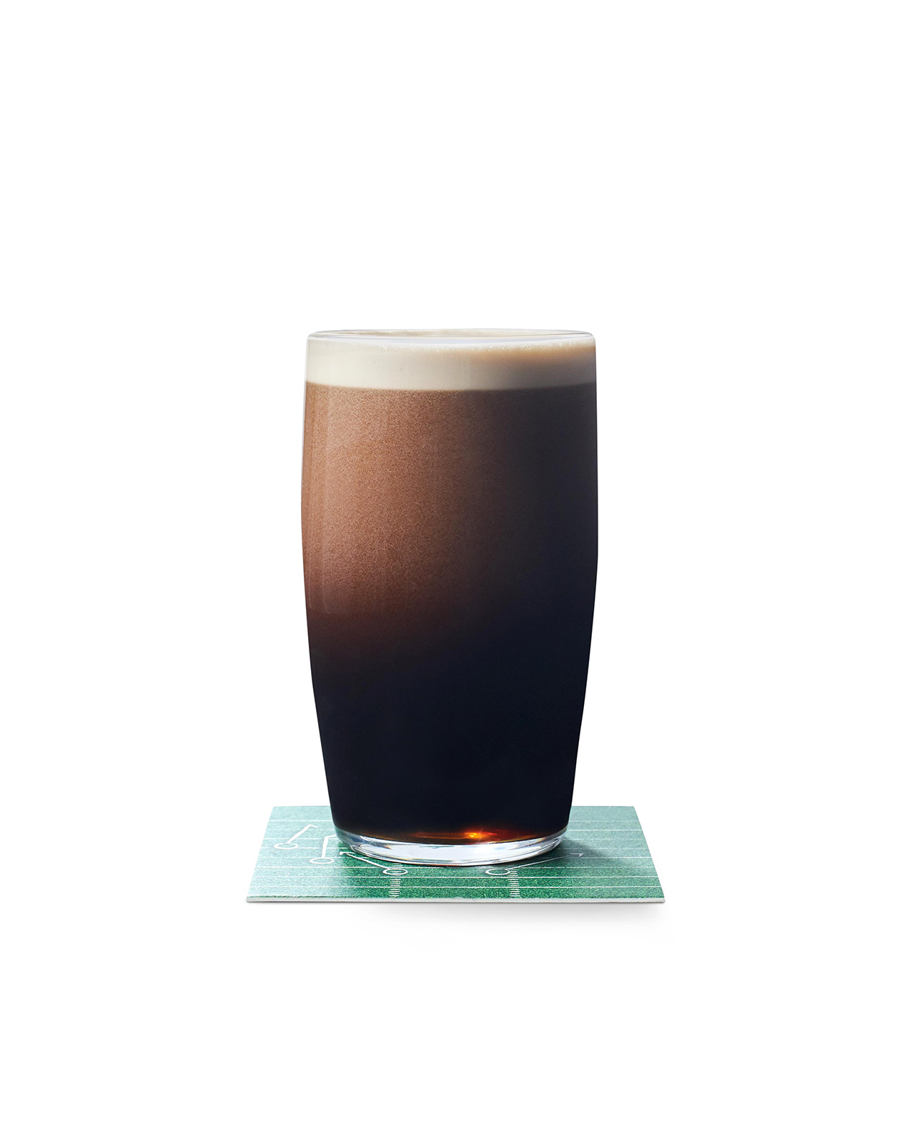 Stout and Stormy Beer Cocktail