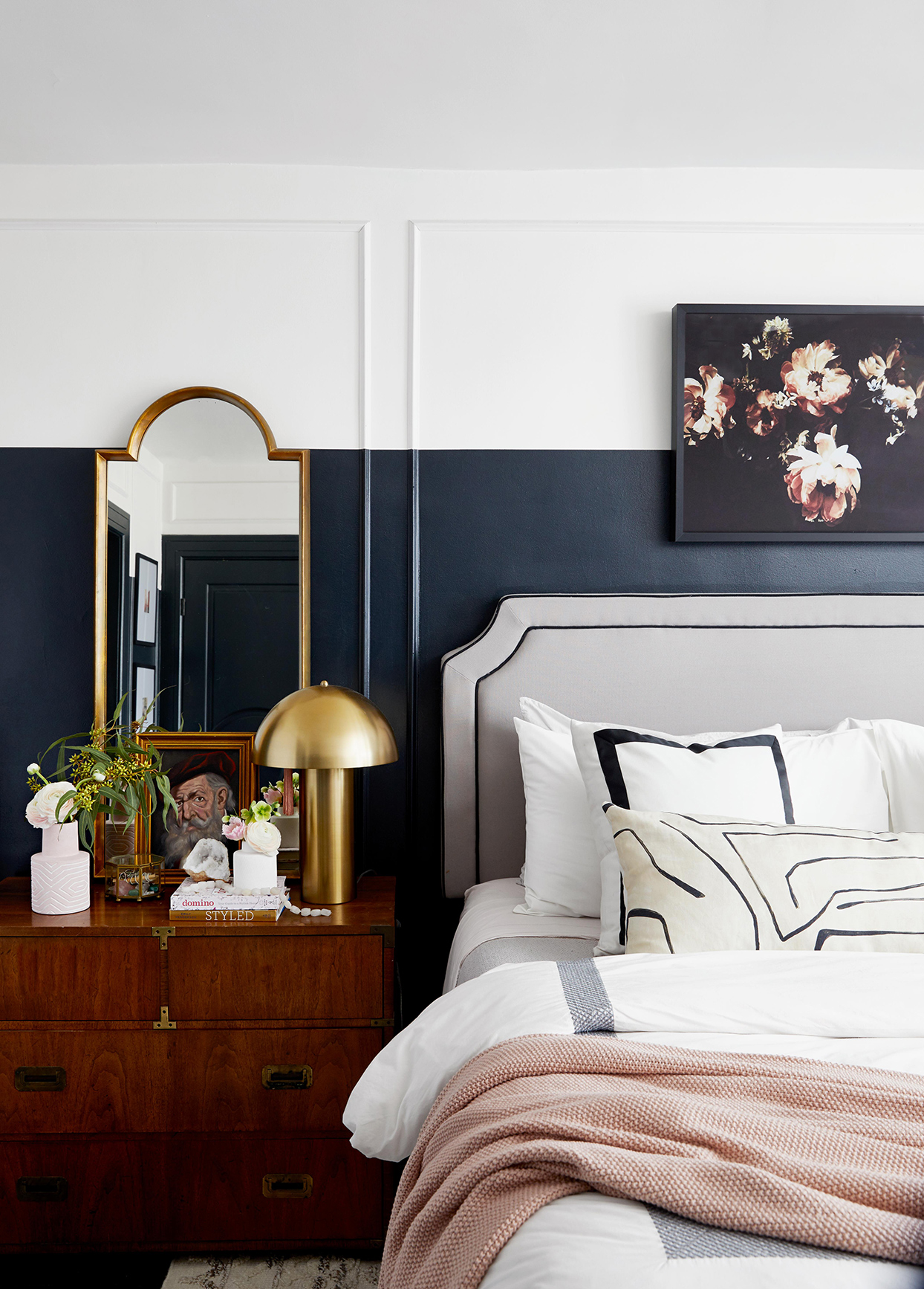Two Tone Walls Are The Latest Design Trend We Re Seeing Everywhere Better Homes Gardens