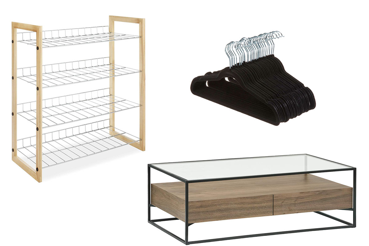 closet organizers from Amazon