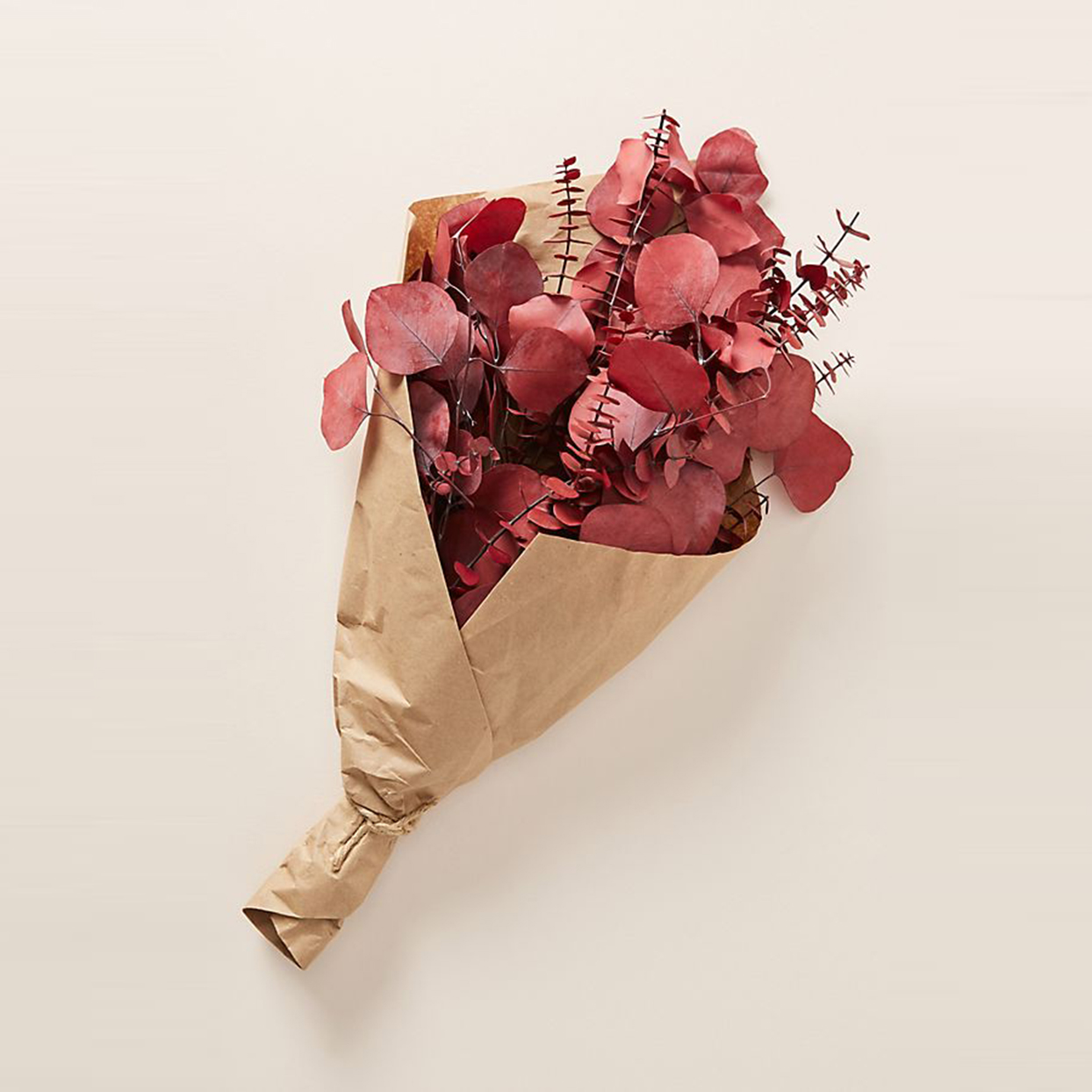 Dried Red Eucalyptus Bouquet