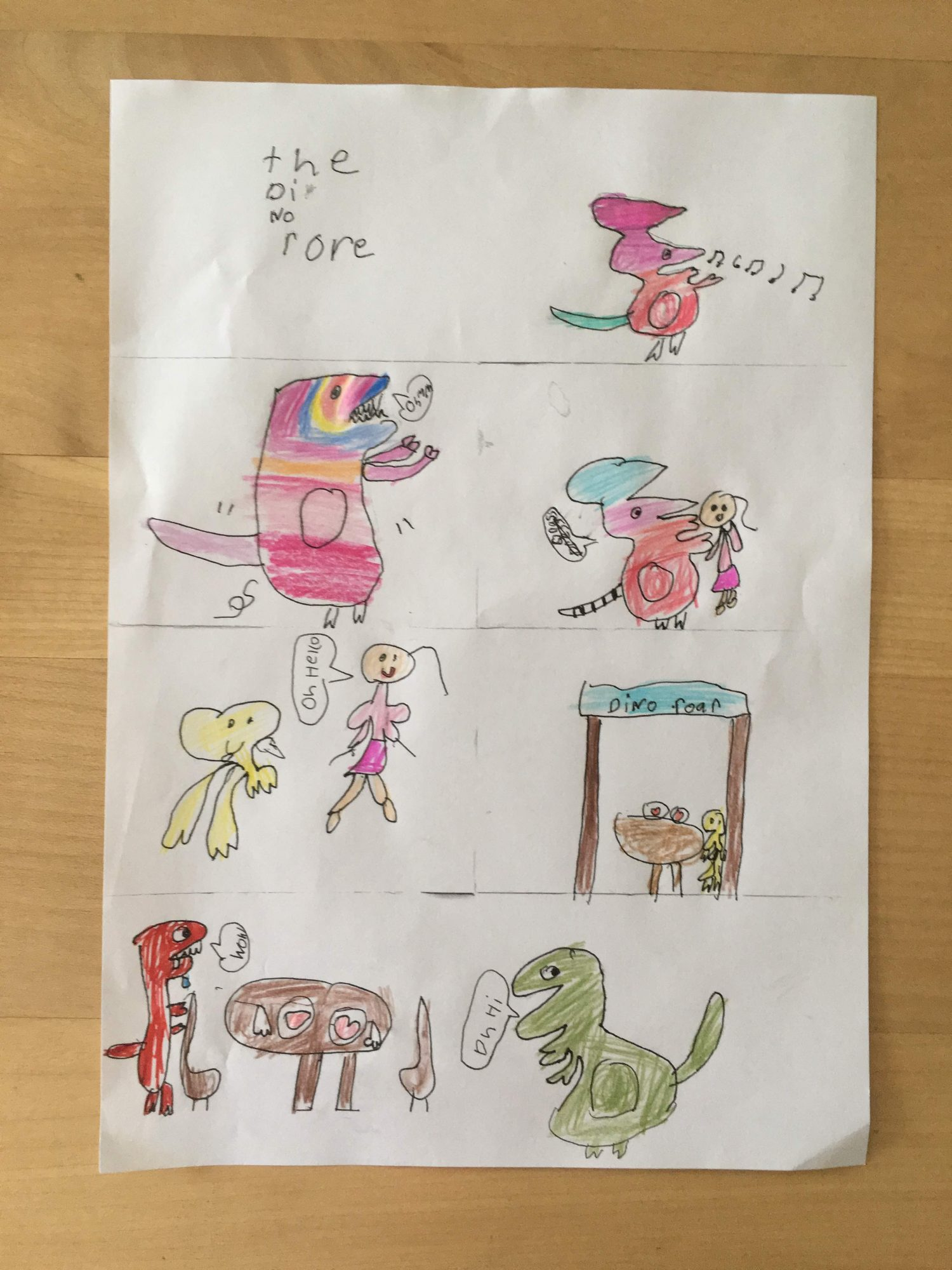 young girls drawings