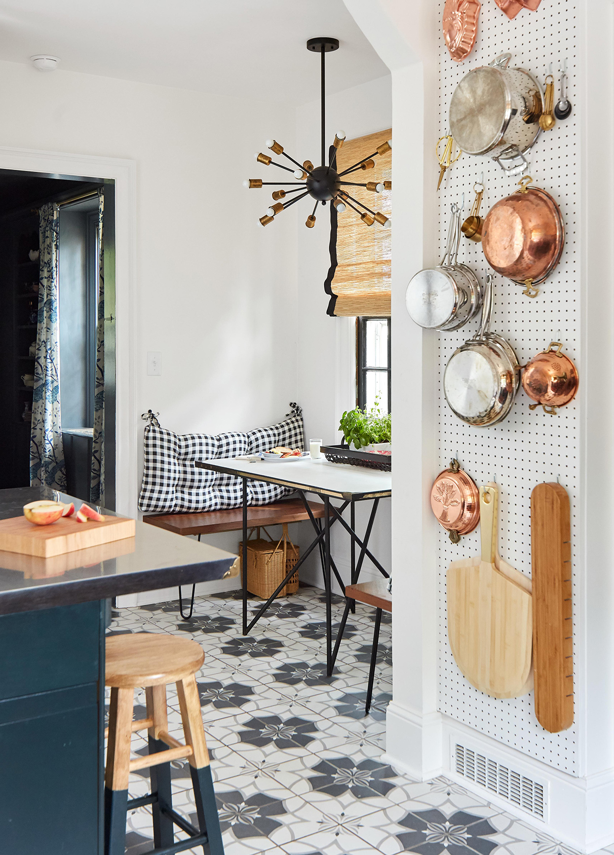 Thrifted Finds and Clever Design Hacks Put the Polish on This Old Colonial