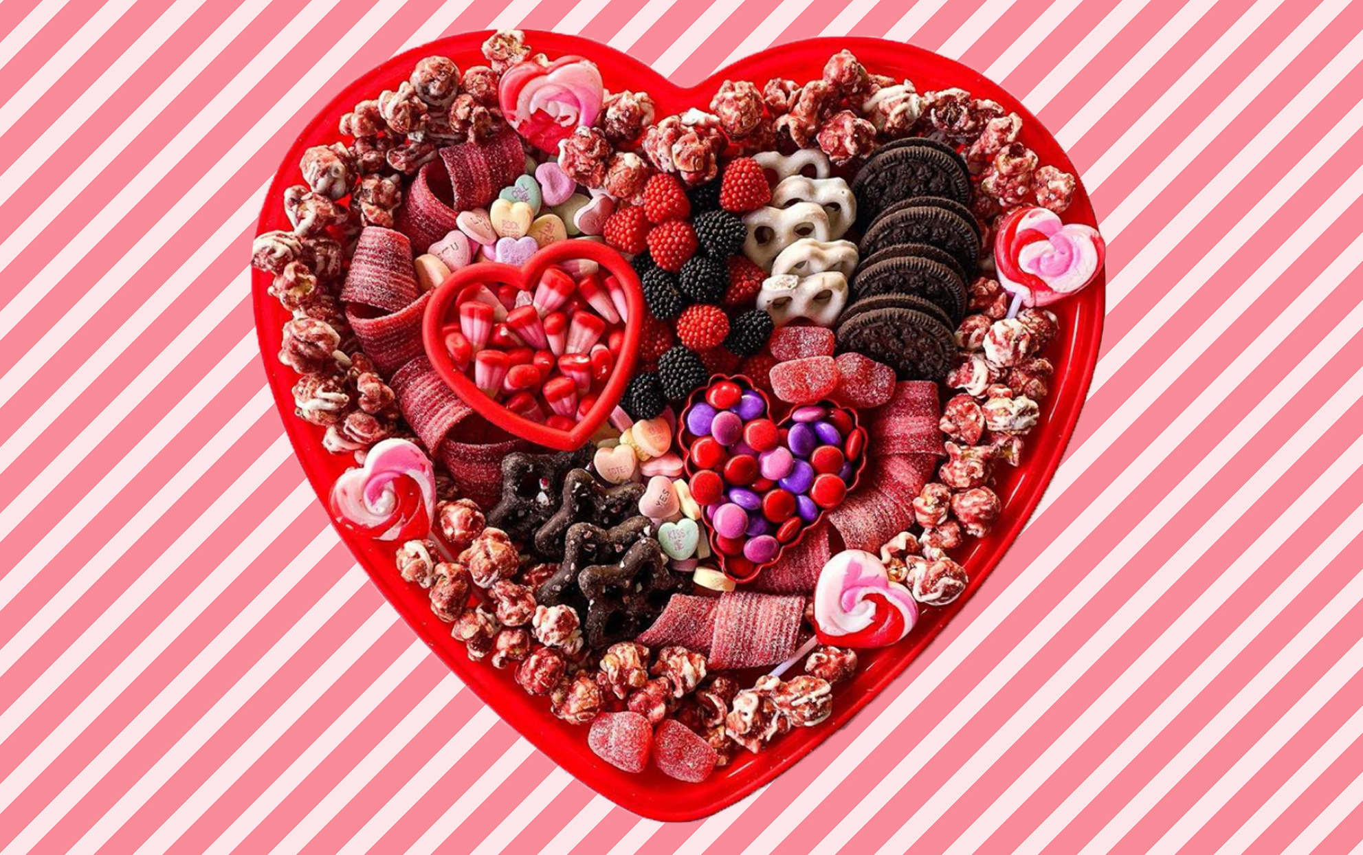 valentine's day dessert boards