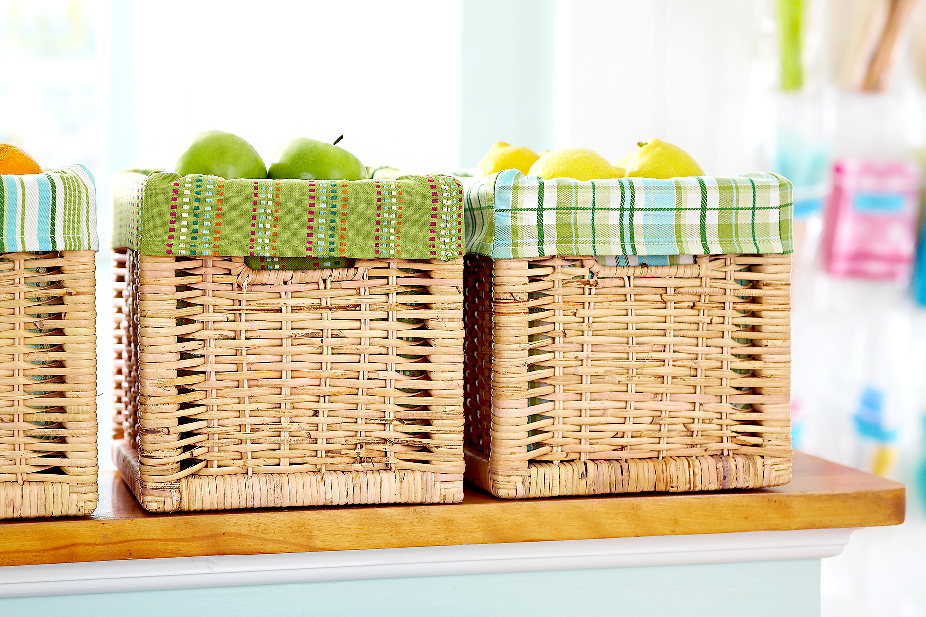 DIY Basket Liners