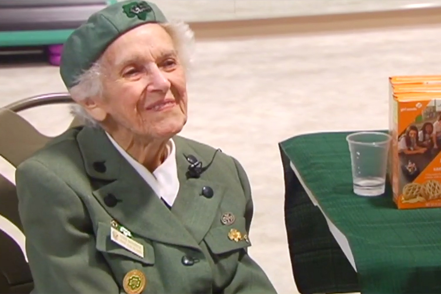 Meet the 98-Year-Old Girl Scout Trying to Sell as Many Cookies as She Can