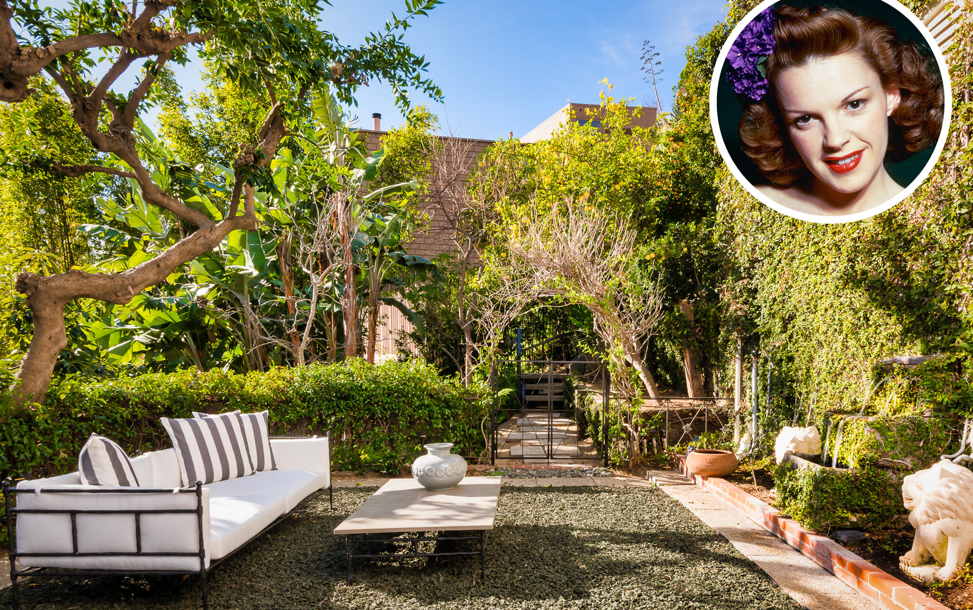 Take a Peek Inside Judy Garland's Former Home, on the Market Now