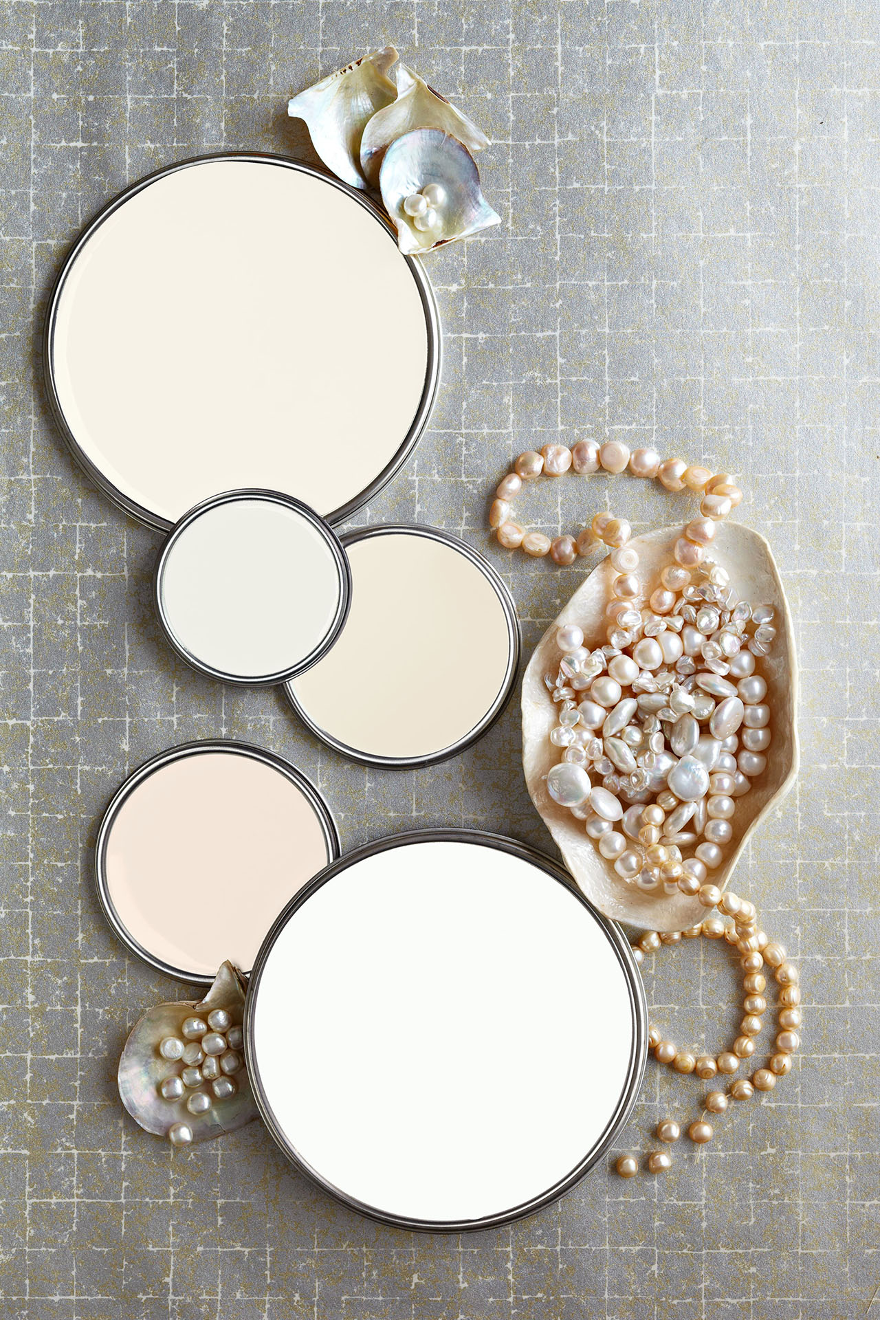 paint lids and pearls
