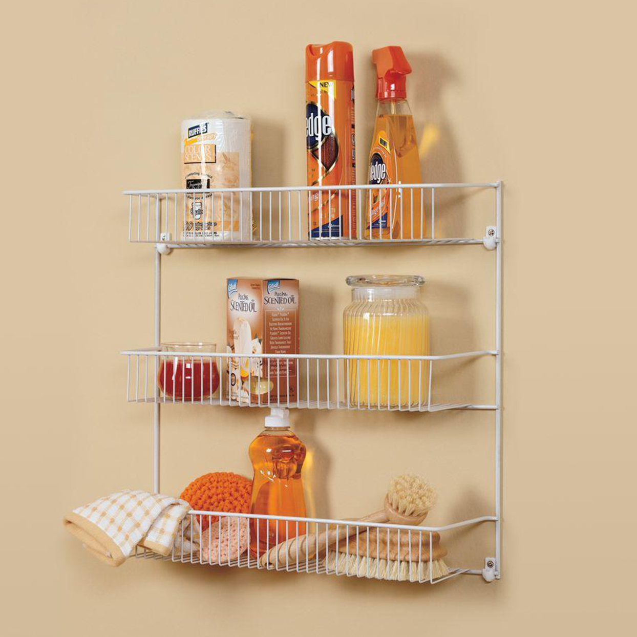 ClosetMaid 18 in. 3-Tier All-Purpose Storage Rack