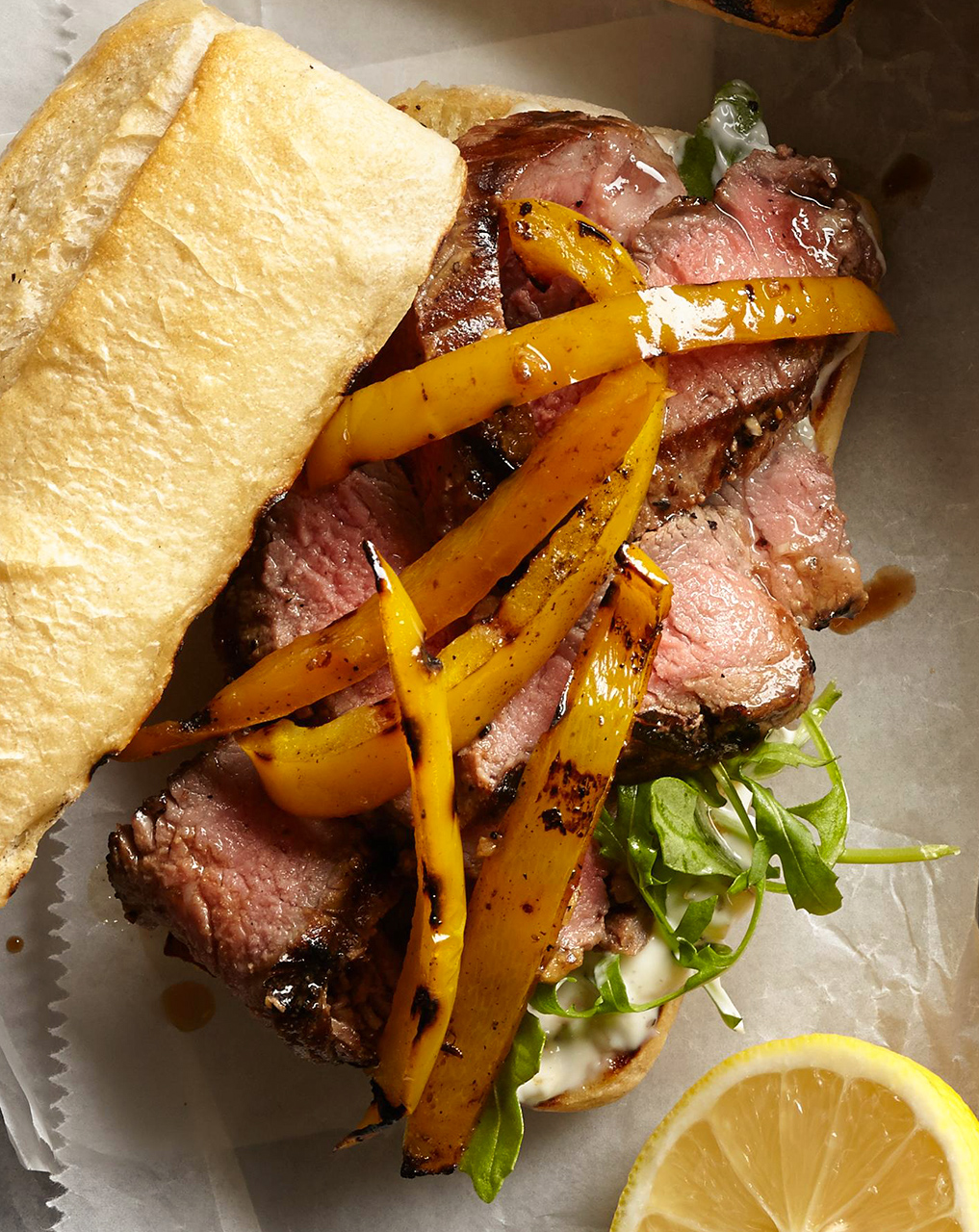 Steak Remoulade Sandwiches