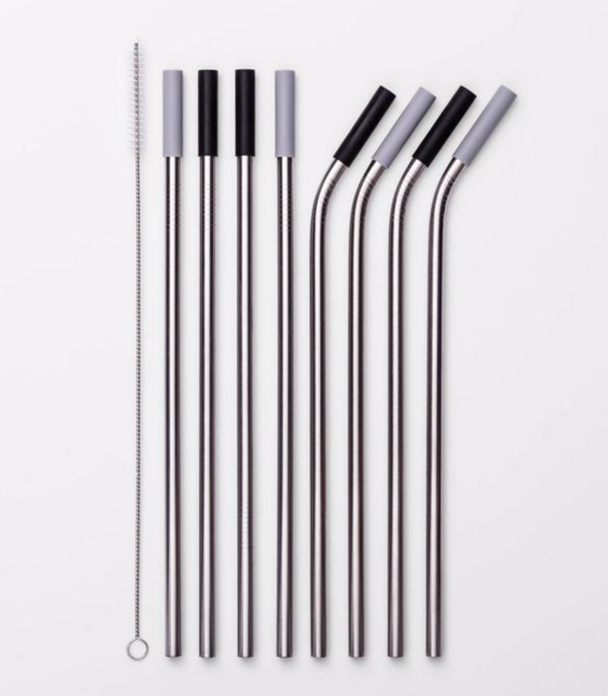 stainless steal straws