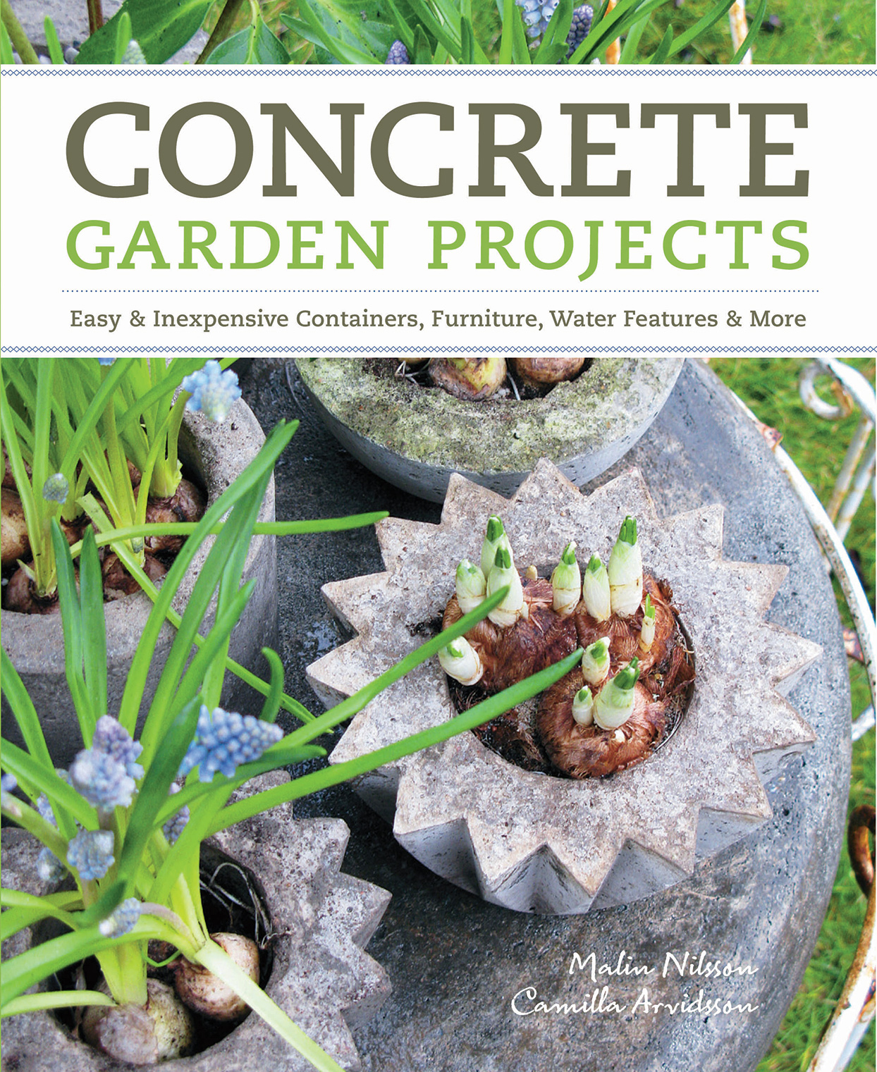 cover of Concrete Garden Projects book