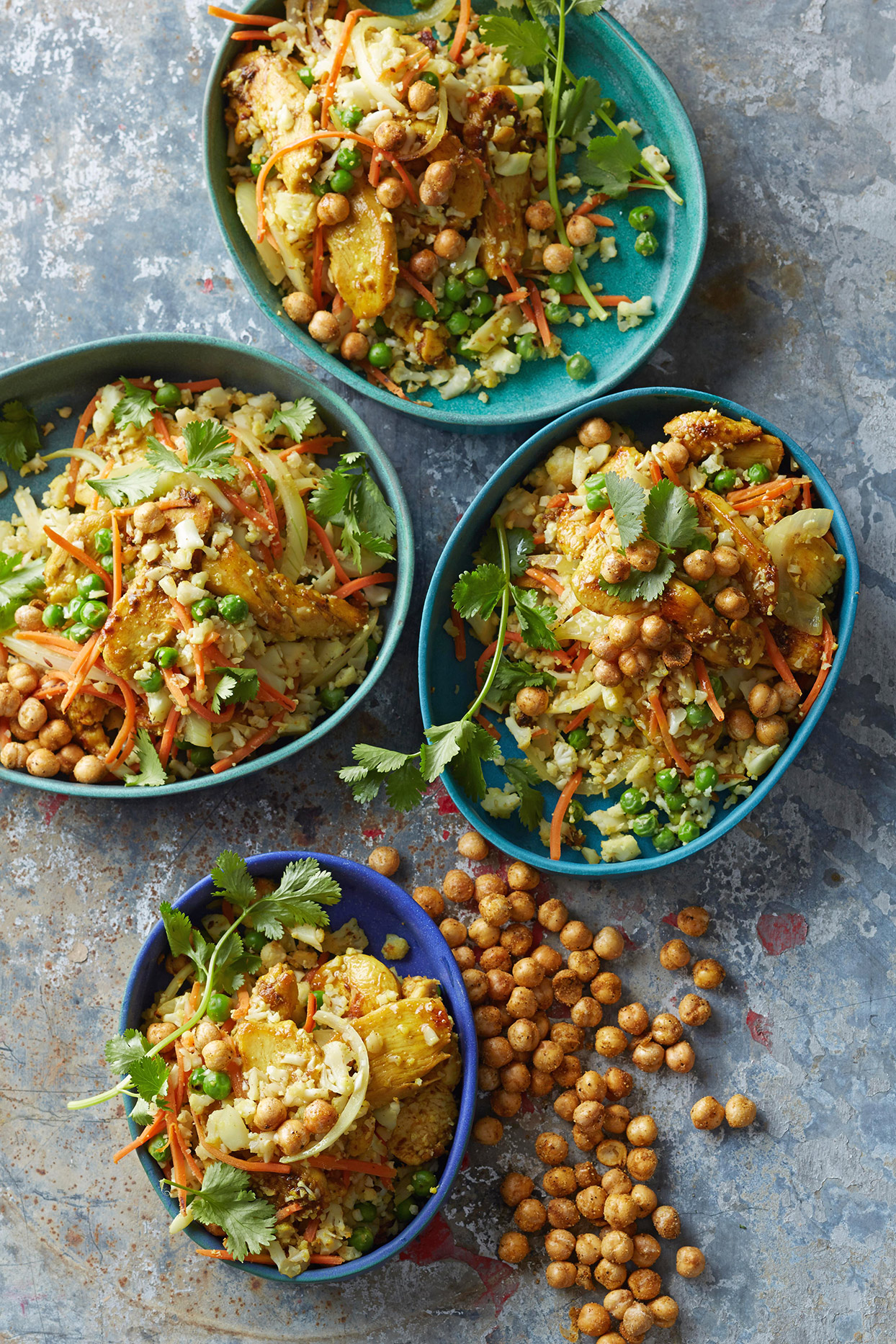 Indian Cauliflower Fried Rice