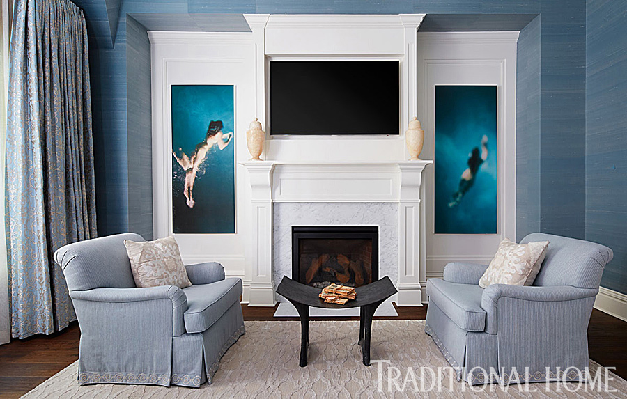 master bedroom seating area