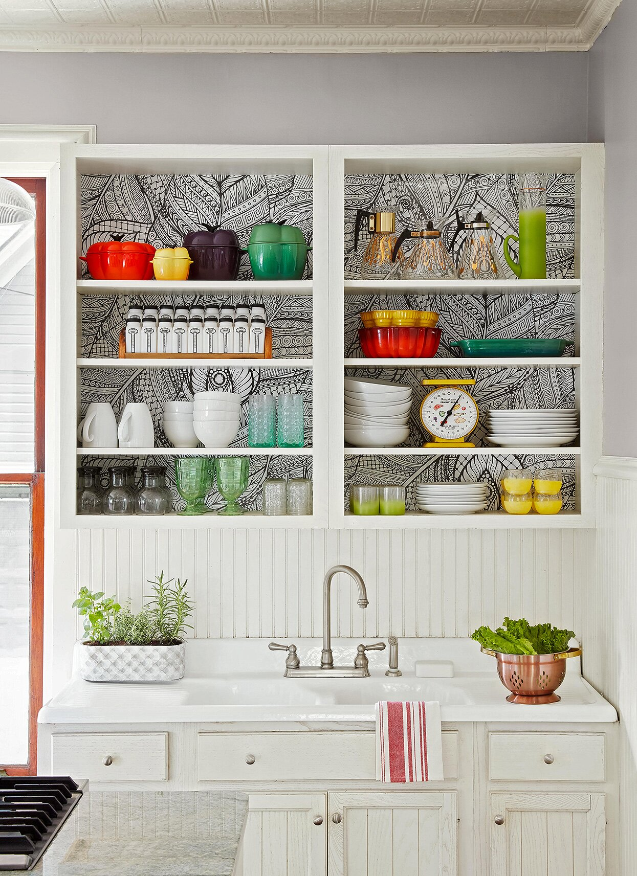 31 Creative Ways To Store Dishes And Utensils That Go Beyond Cabinetry Better Homes Gardens
