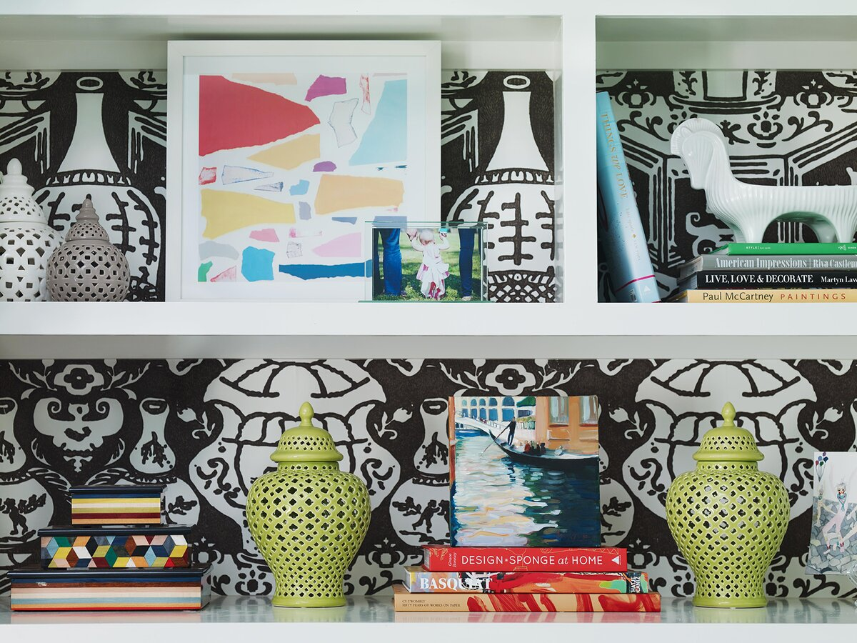 Add Pattern to Shelves