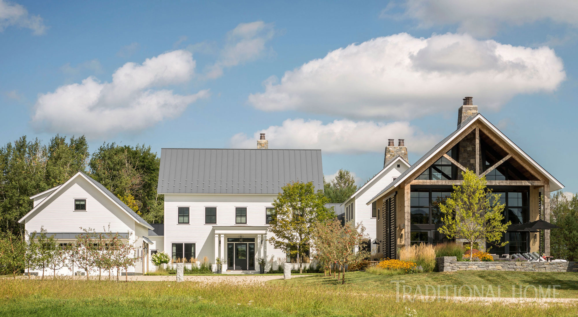 vermont countryside farmhouse