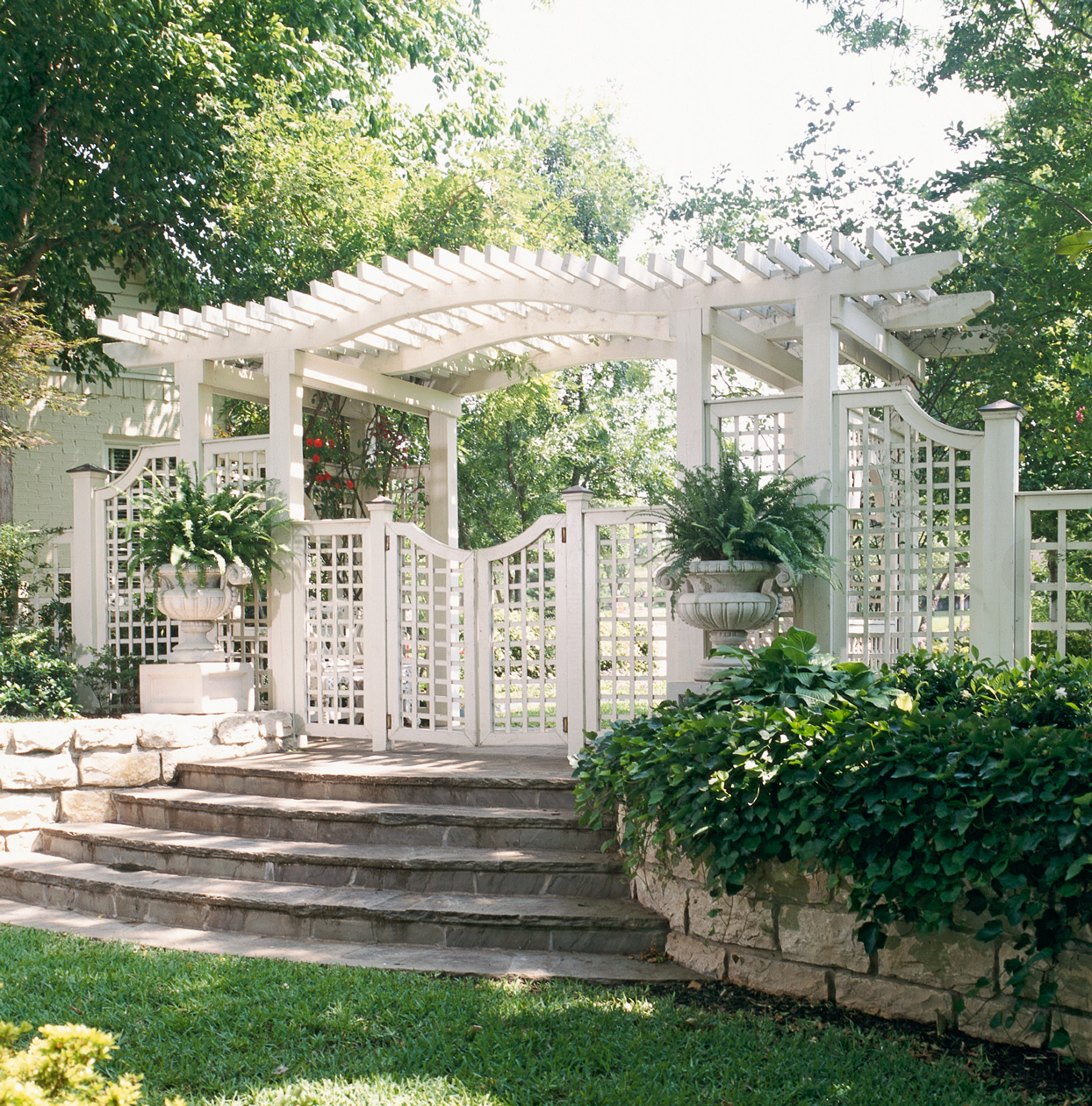 Decorative Trellis Gate