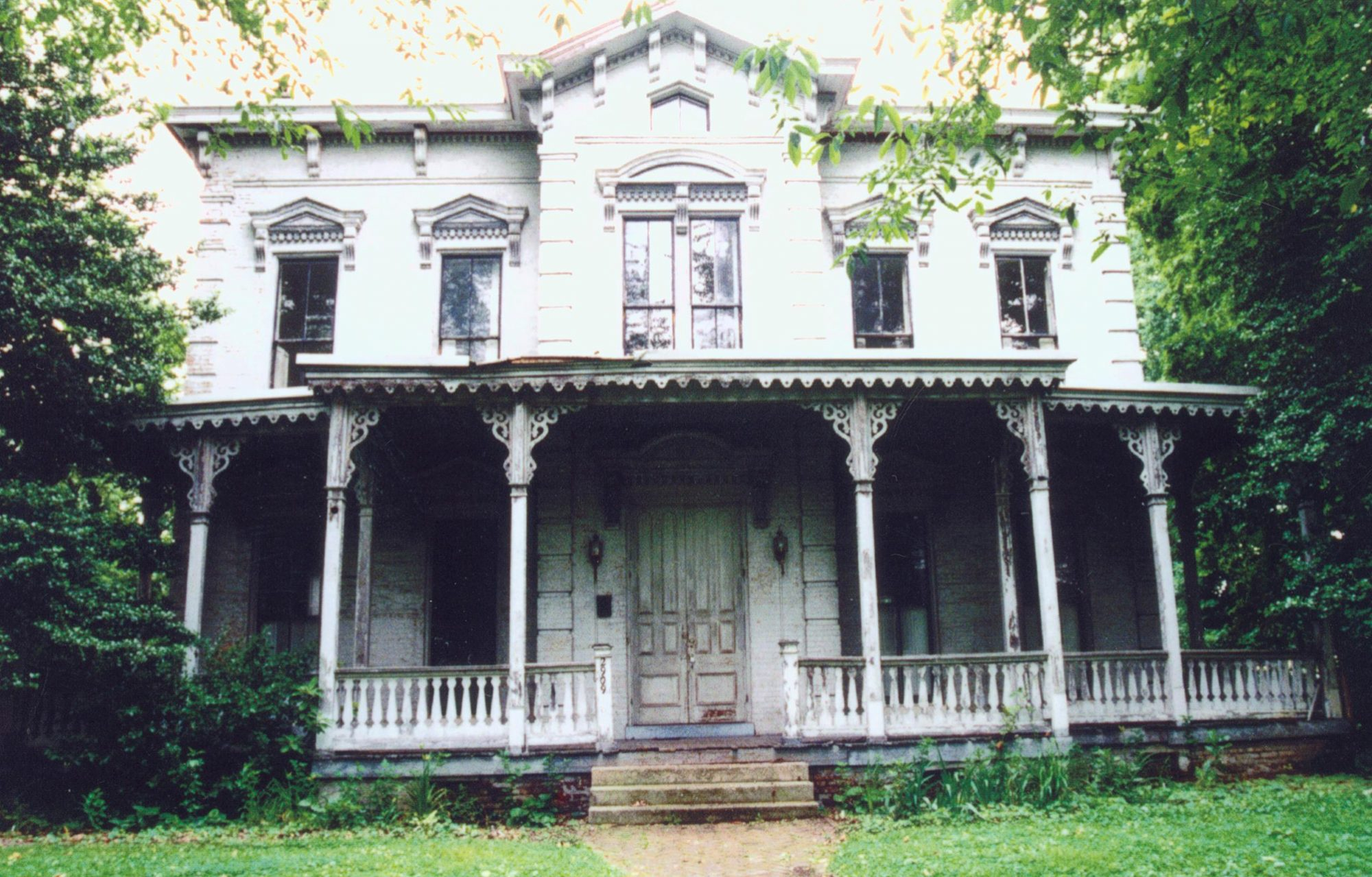 125-year old Italianate home with porch