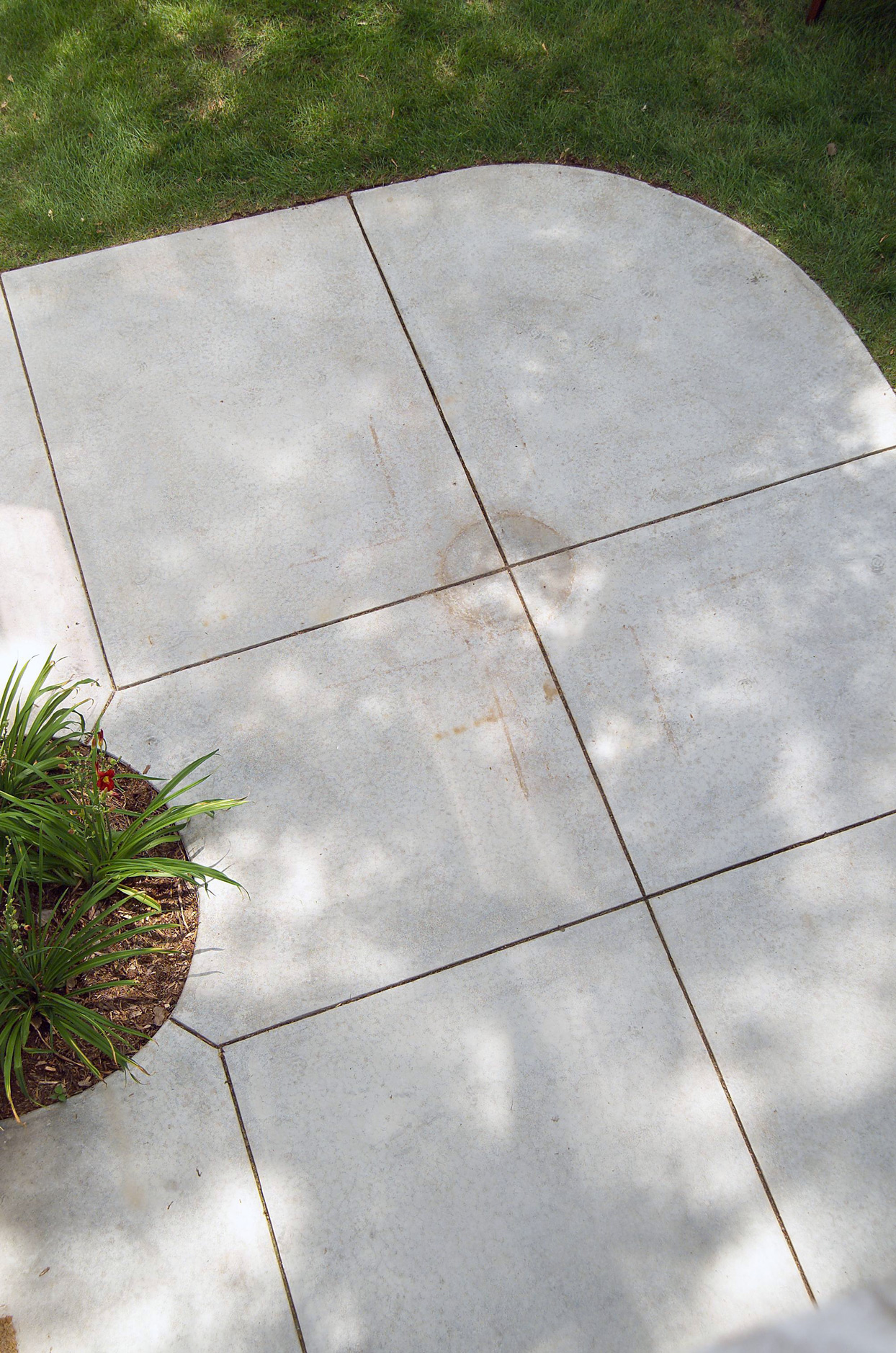 patio concrete