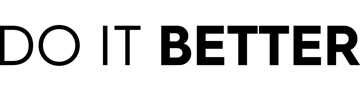 do it better logo