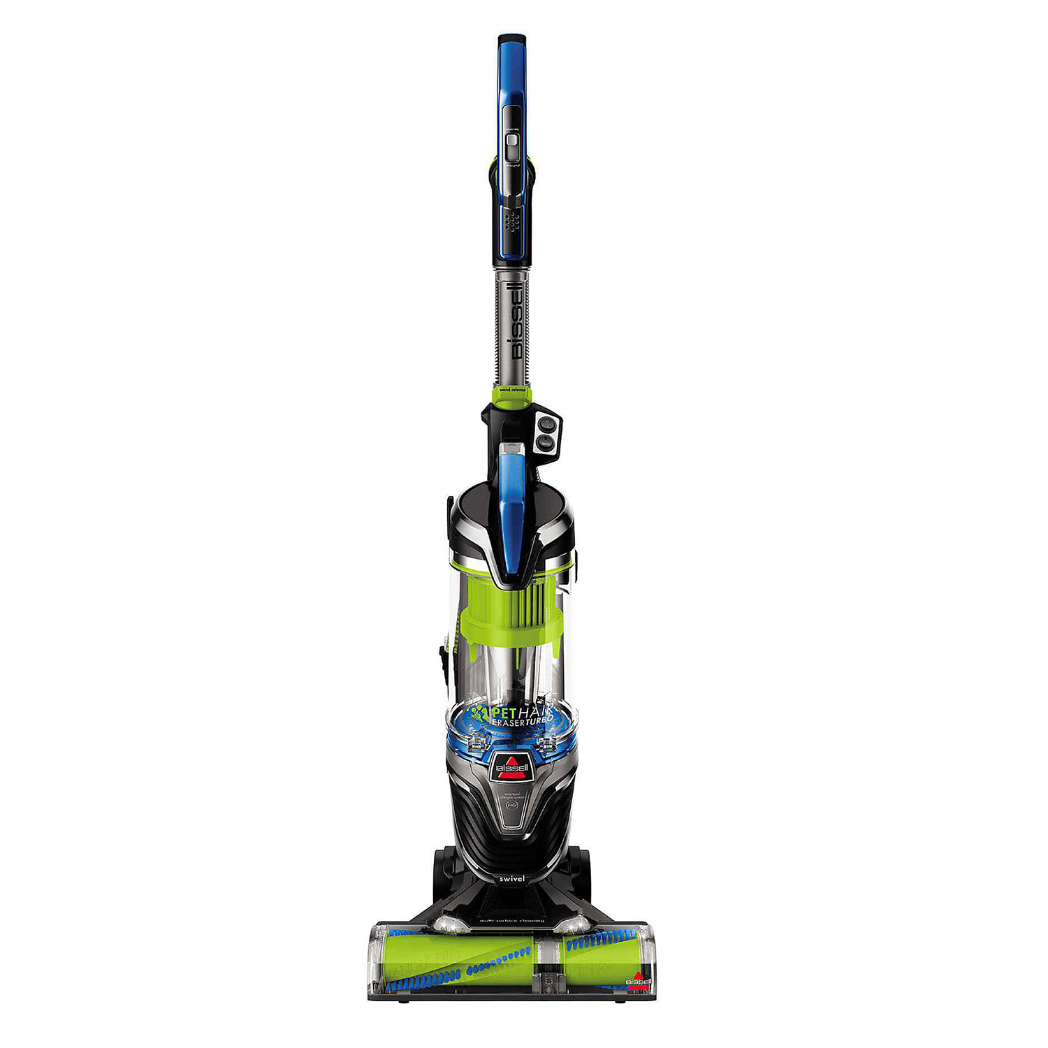 BISSELL Pet Hair Eraser Turbo Pro with Bonus 3-in-1 Stair Tool