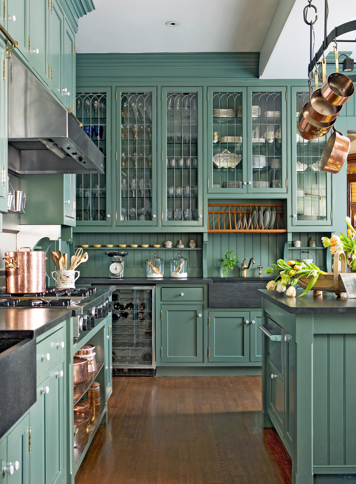 Victorian-Style Cabinets