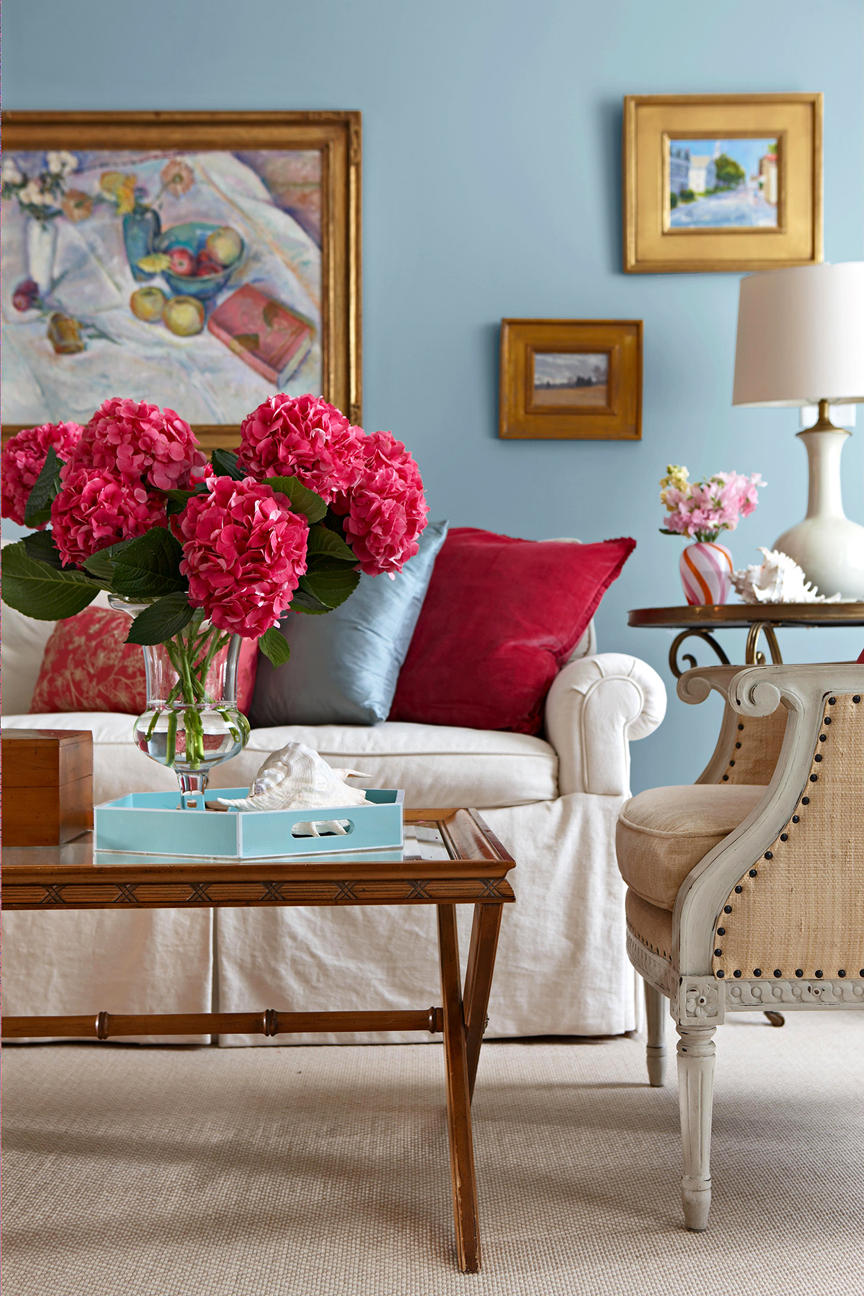 17 Distinctive Ways To Decorate With Blue Walls In Every Shade Better Homes Gardens