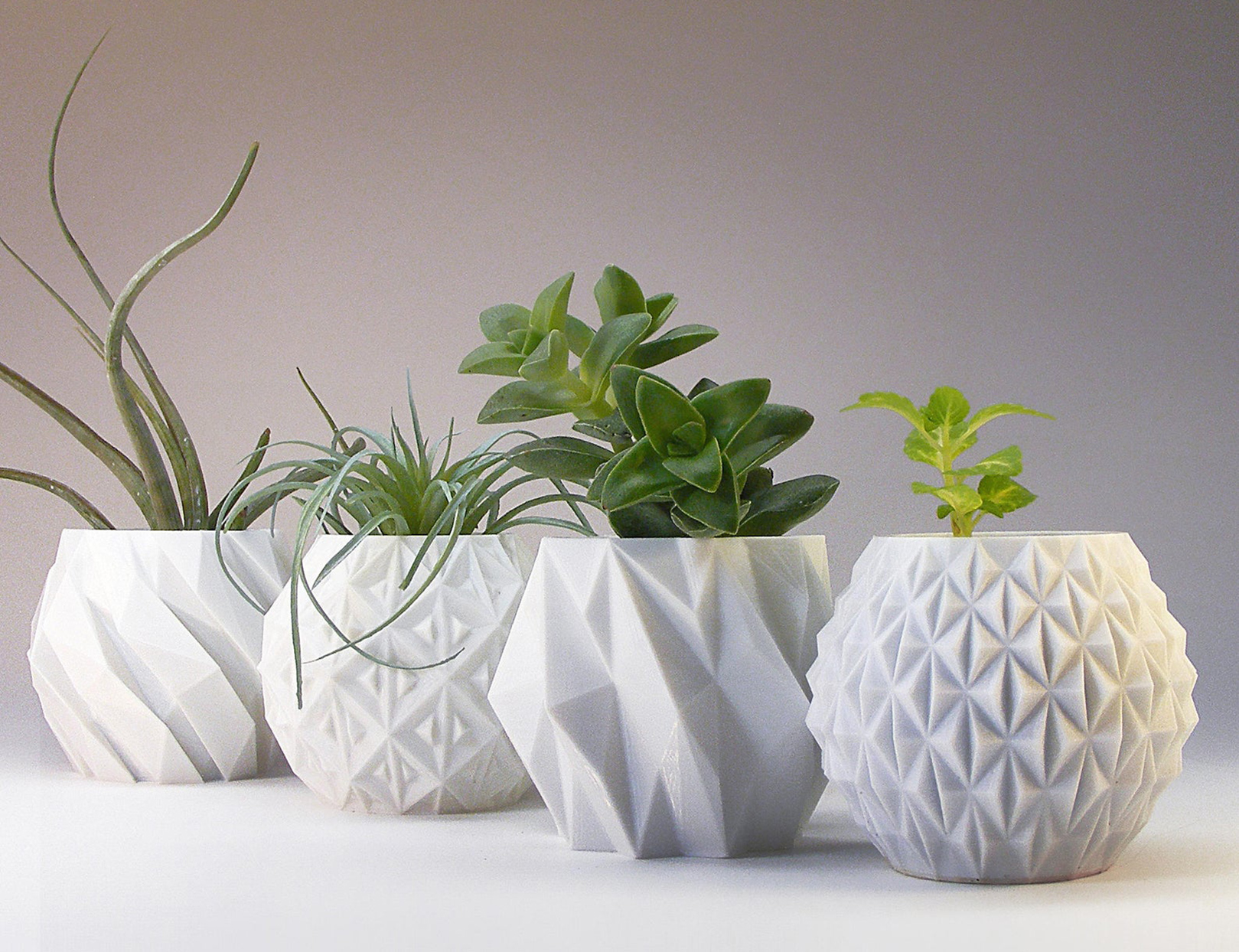 These 3D-Printed Planters Are the Cutest Way to Upgrade Your Houseplants |  Better Homes & Gardens