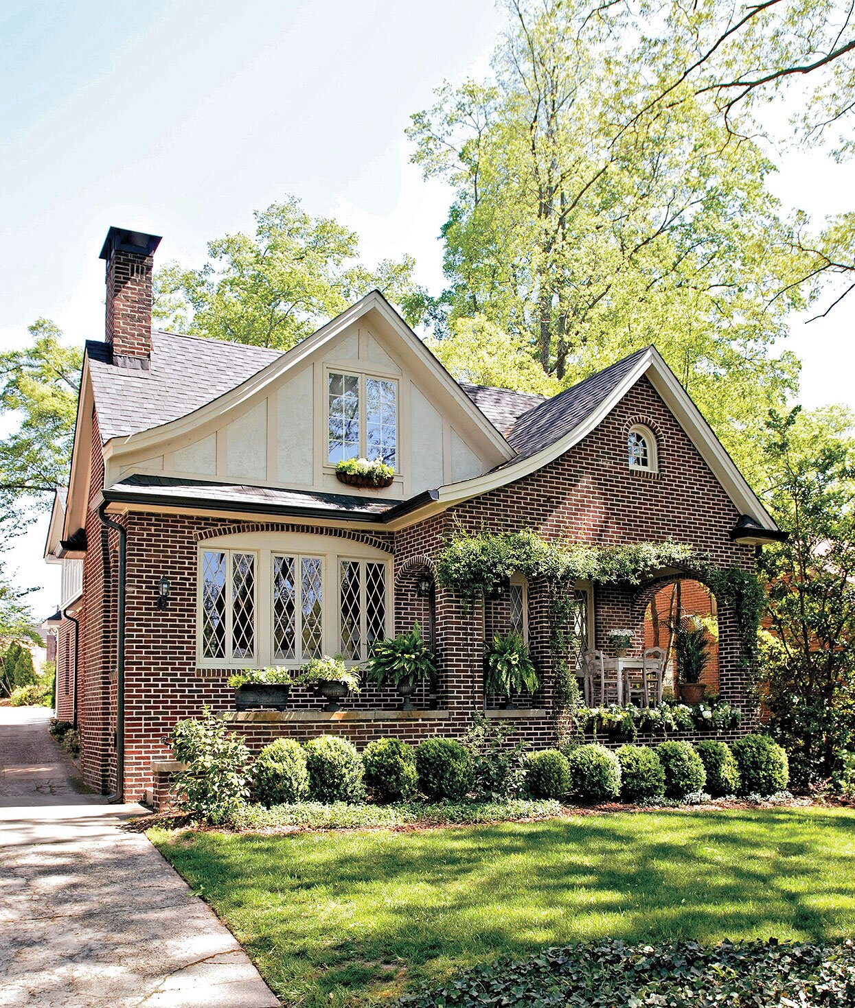 Tudor Style Home Ideas That Bring Old World Style Into The Modern Age Better Homes Gardens