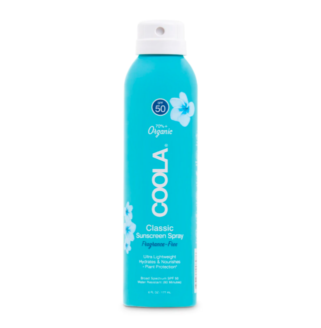 Coola brand sunscreen