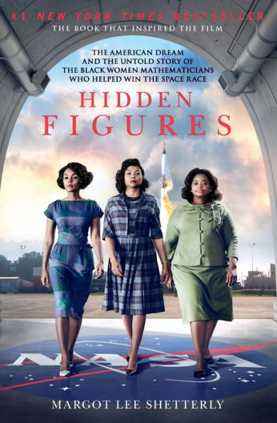 book cover of the book hidden figures