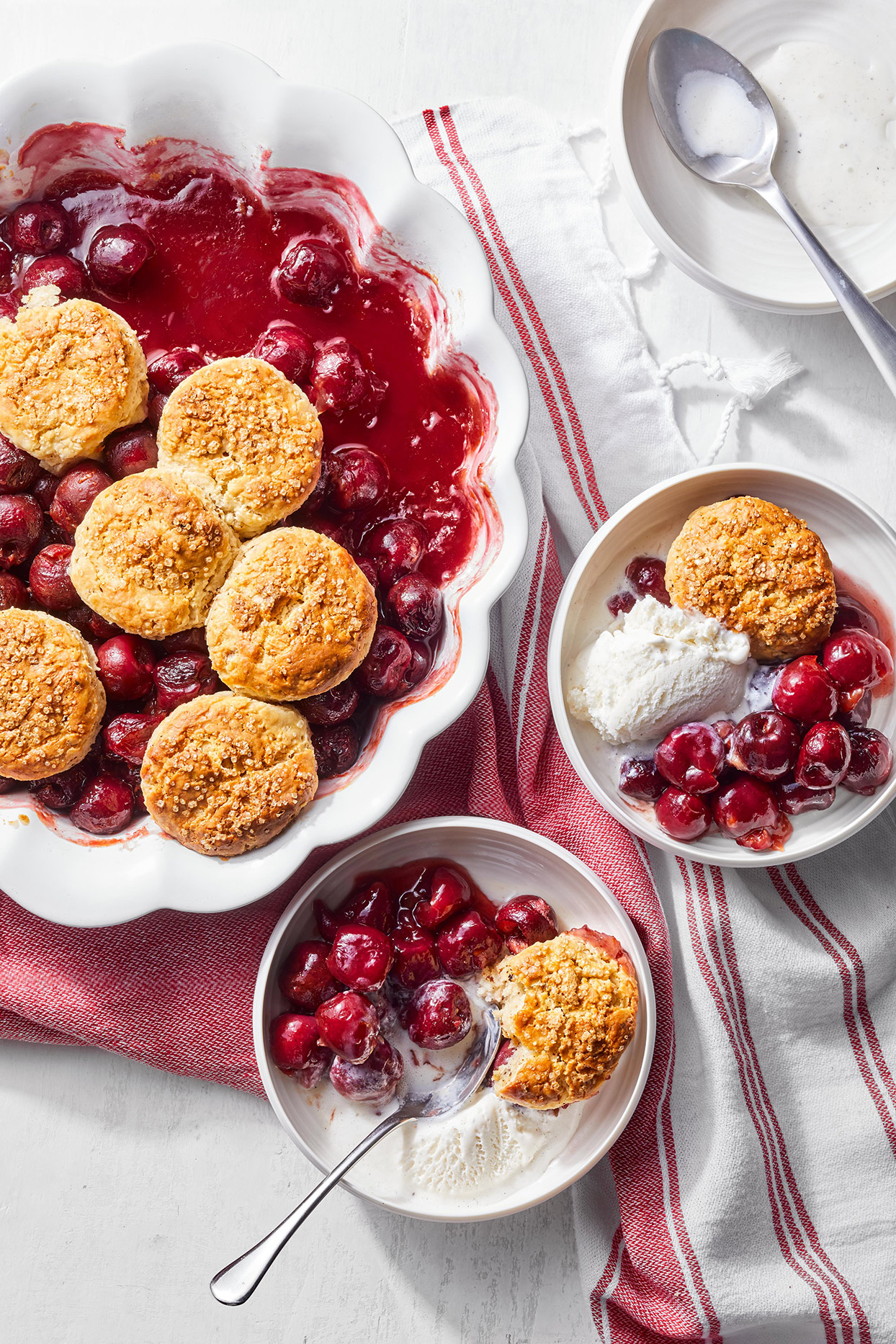 Cherry-Orange Cobbler