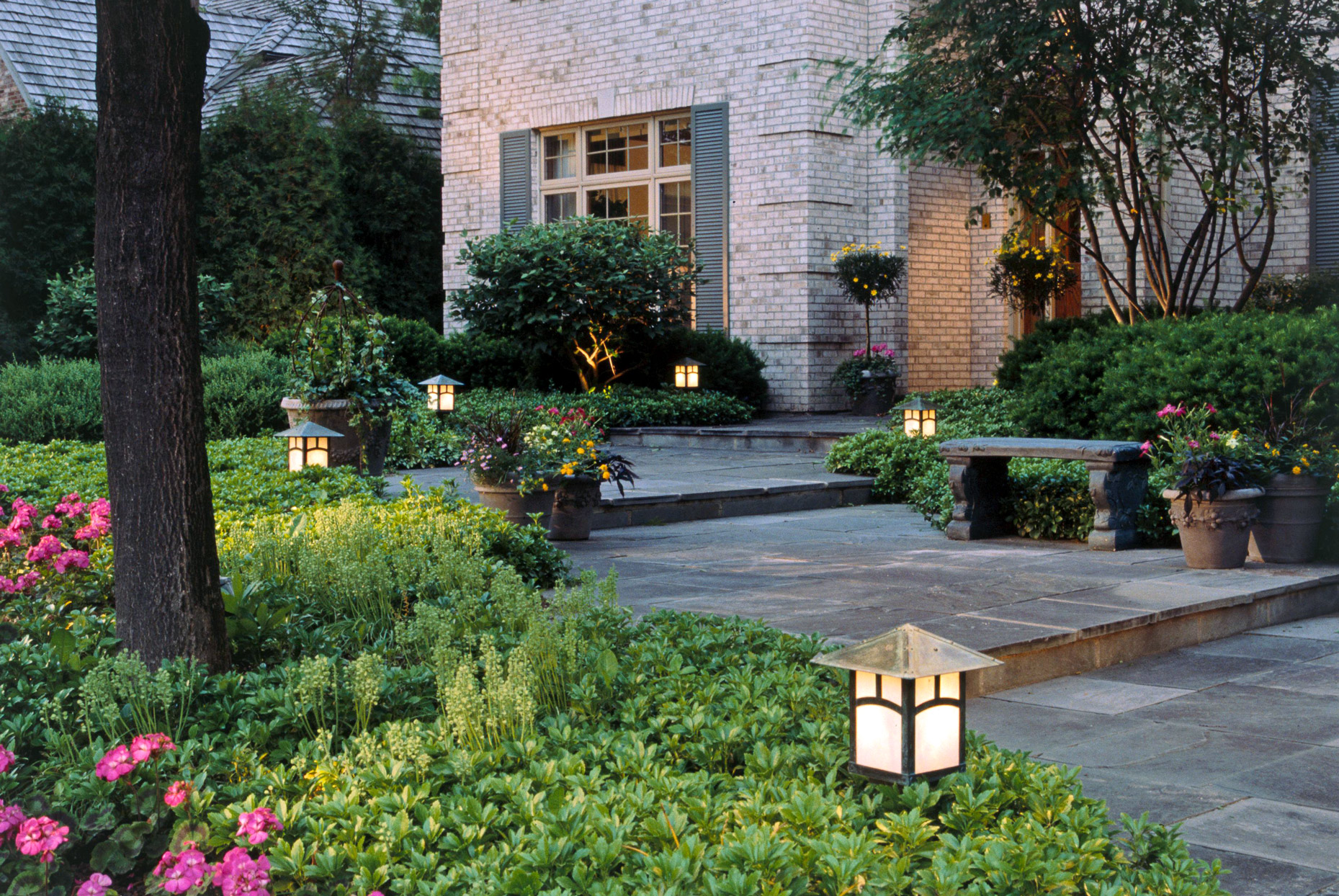 Curb Appeal in a Day: Install Outdoor Lighting
