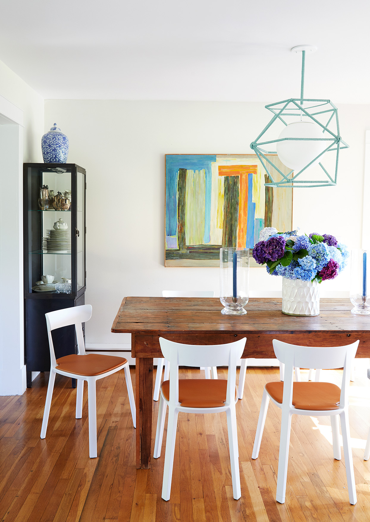 Mancini home tour dining table