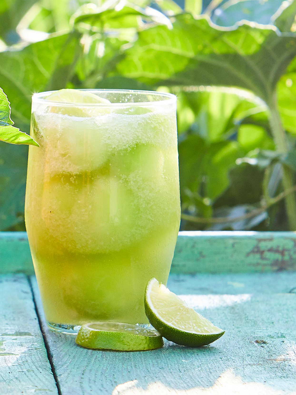 Honeydew-Ginger Lime Fizz
