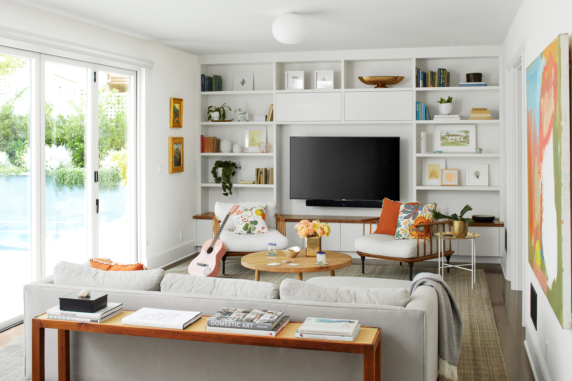 10 Stylish Ways to Decorate with a TV  Better Homes & Gardens