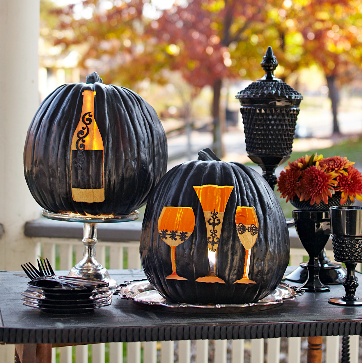 Dinner Party Pumpkins