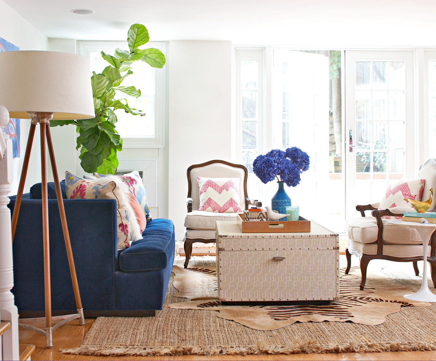 bohemian decor layered look
