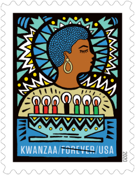 kwanzaa stamp from usps