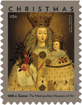 lady of guapulo stamp usps