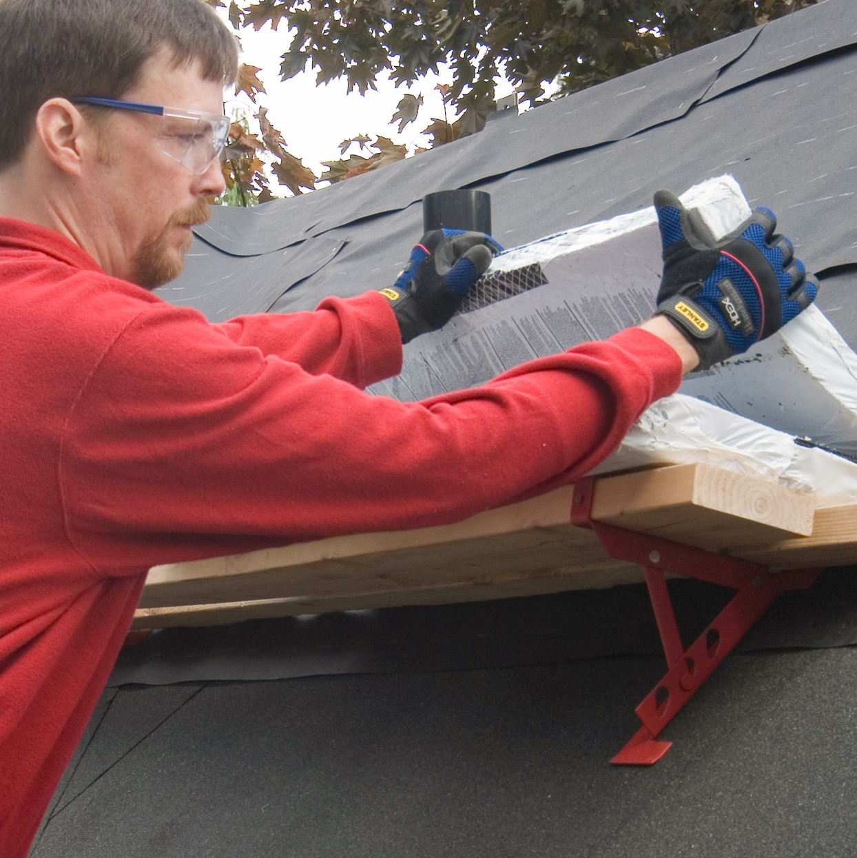 stacking shingles roof jack