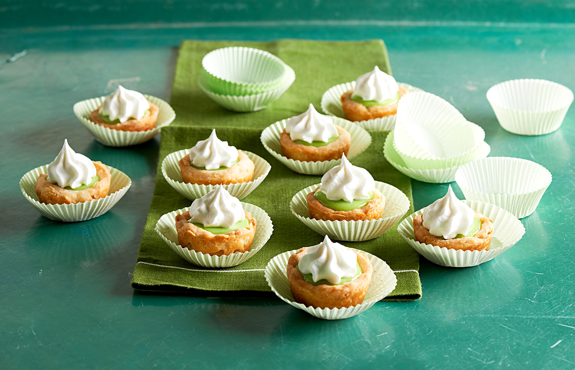 Key Lime Pie Tassies