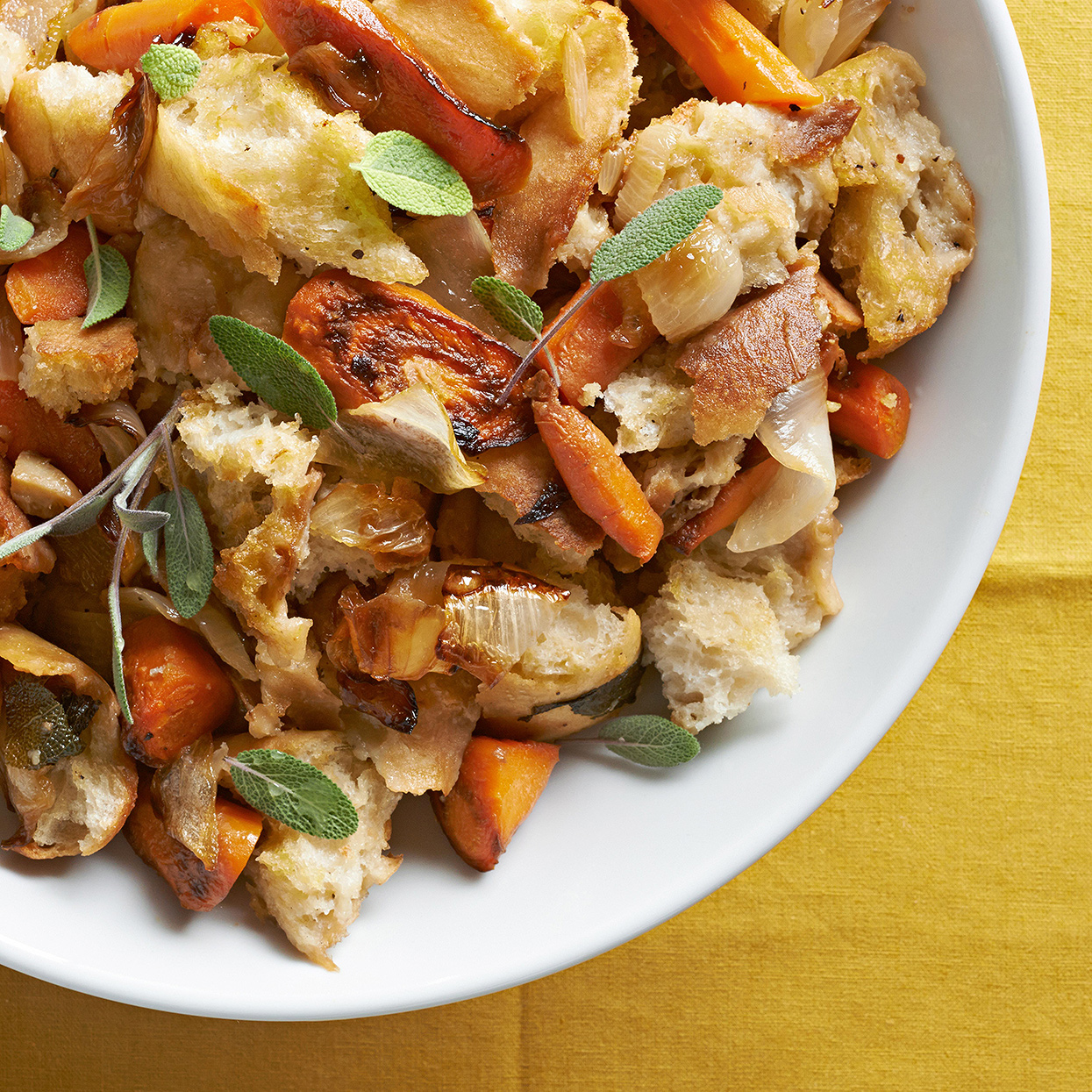Caramelized Onion and Carrot Stuffing