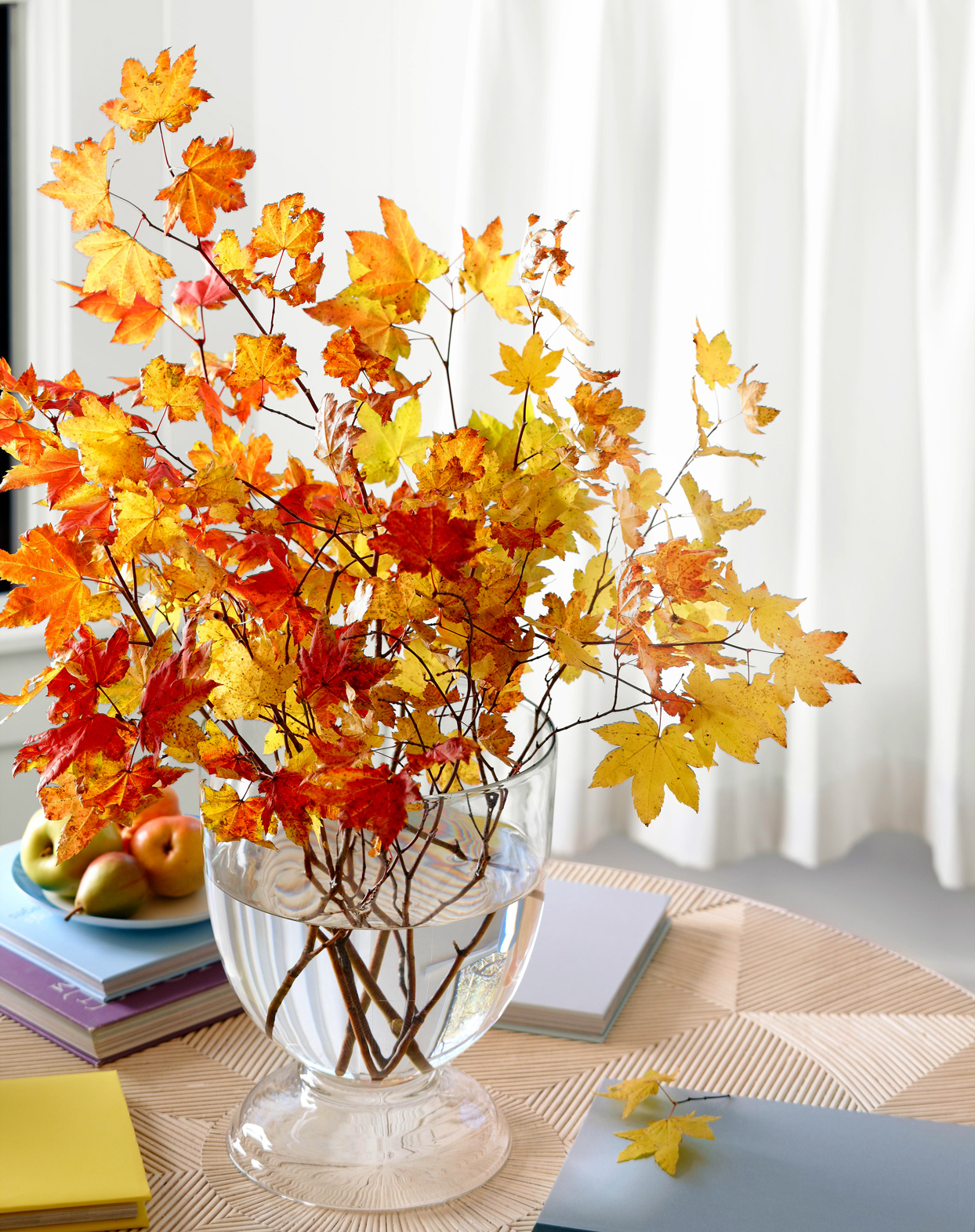 Fall Branches in Vase