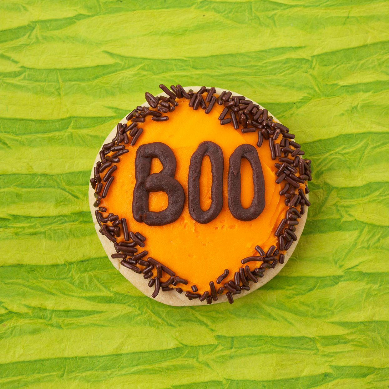 Boo Halloween Cookie