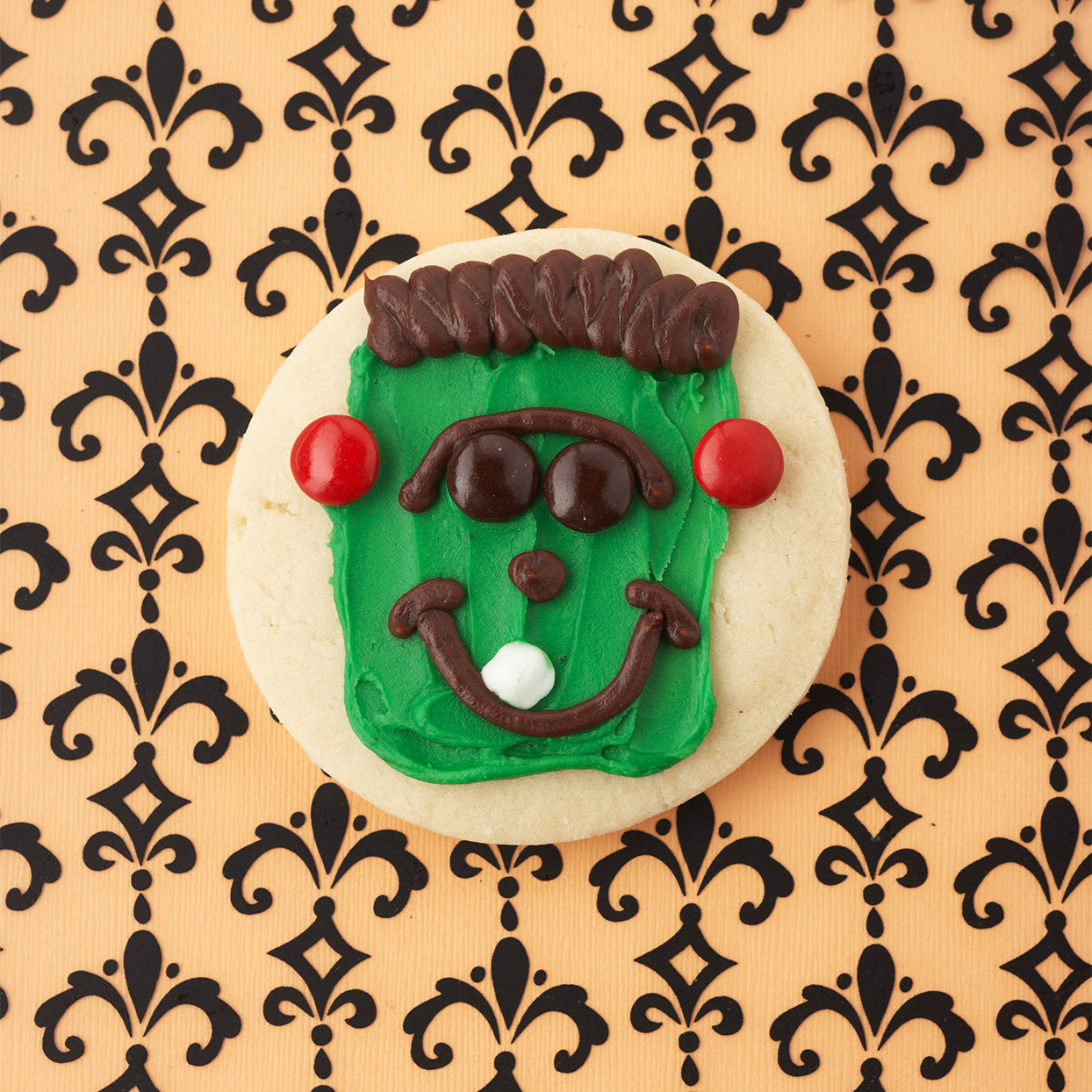 Frankenstein Halloween Cookie