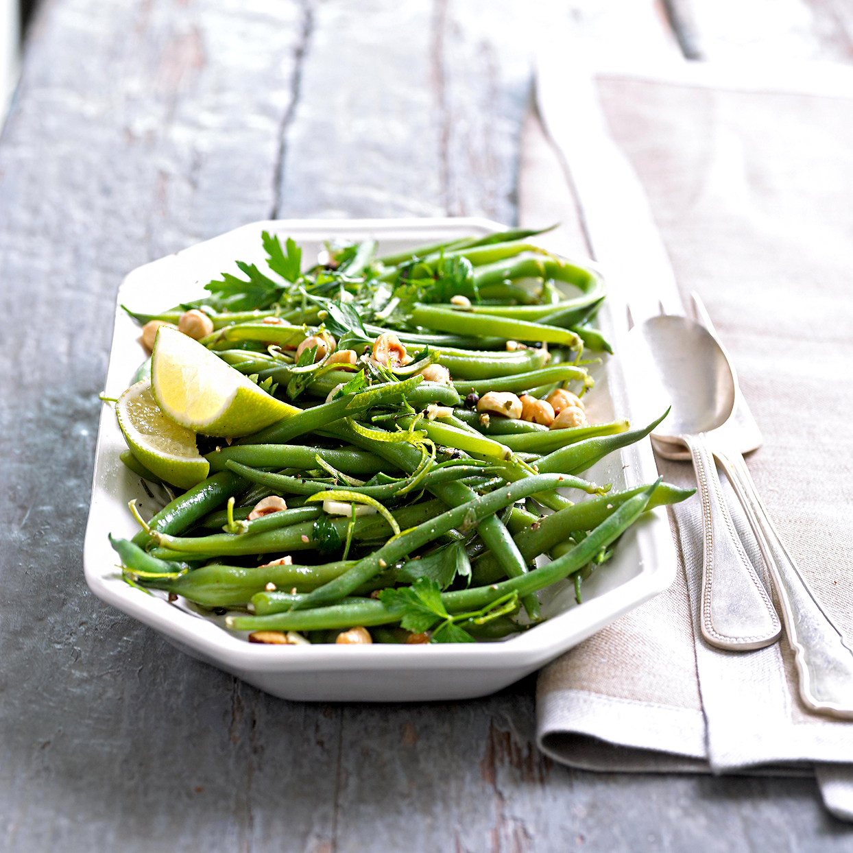 Green Beans and Lime