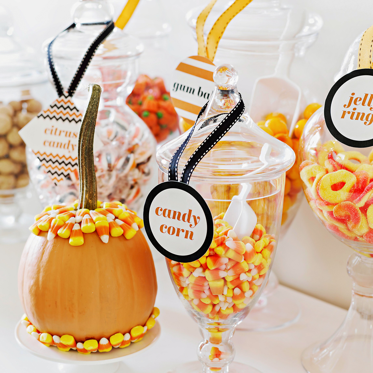 Candy Corn Halloween Decor