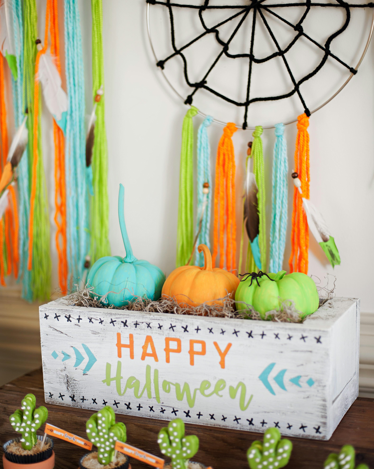 dessert halloween party decor